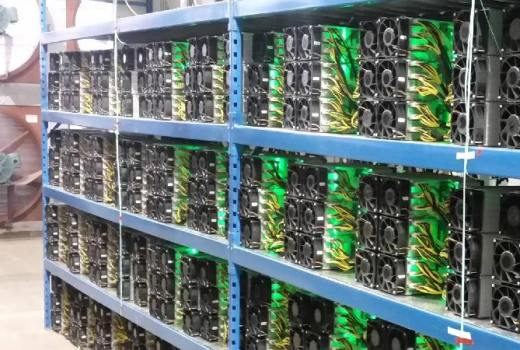 bitcoin farming machine